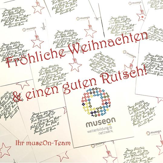 Weihnachtsgrüße Team.Weihnachtsgrüße Museon